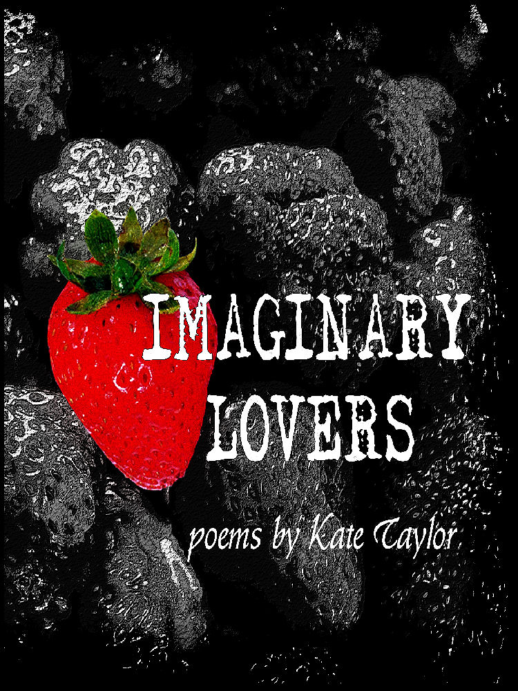 cover of Kate Taylor's book of poetry IMAGINARY LOVERS